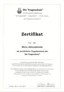 certyfikat-die-trageschule